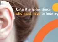 Solar-Hörgeräte: Solar betriebenes Hörgerät für