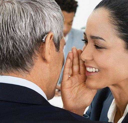 Hörgerät im Beruf