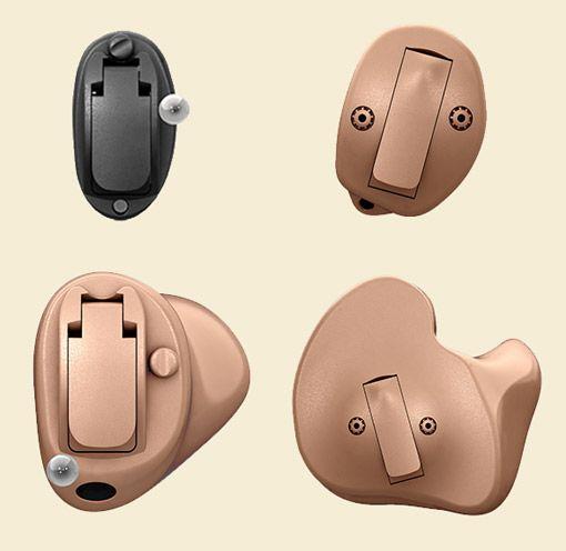 IdO Hörgeräte in unterschiedlichen Bauformen