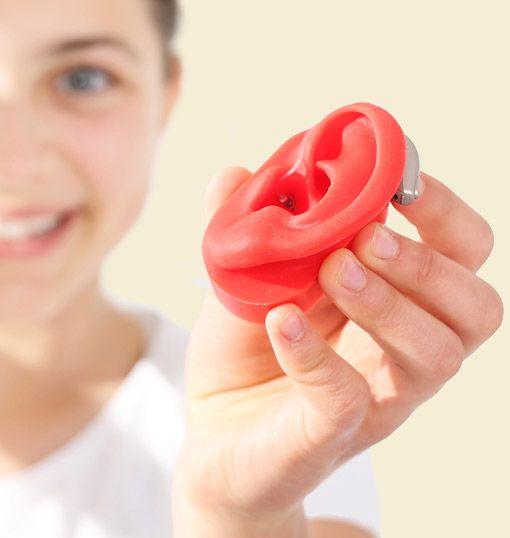 Modell Gehörgang Hörgerät