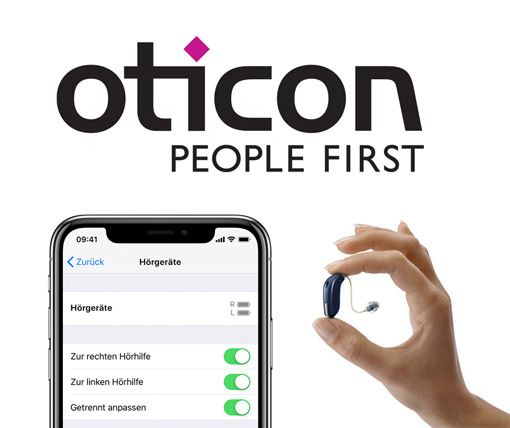 Oticon Iphone Hörgeräte