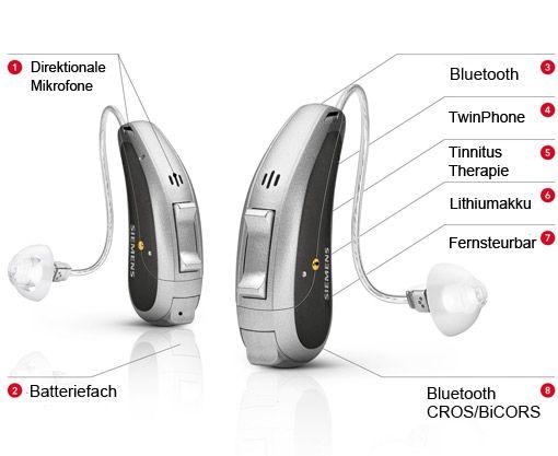 Siemens Primax HdO-Hörgeräte