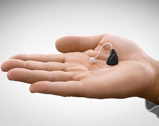 Im Ohr Hörgeräte