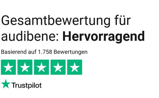audibene.de trustpilot.com Bewertungen