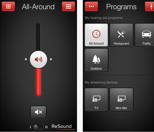 ReSound LiNX Smart-App iphone