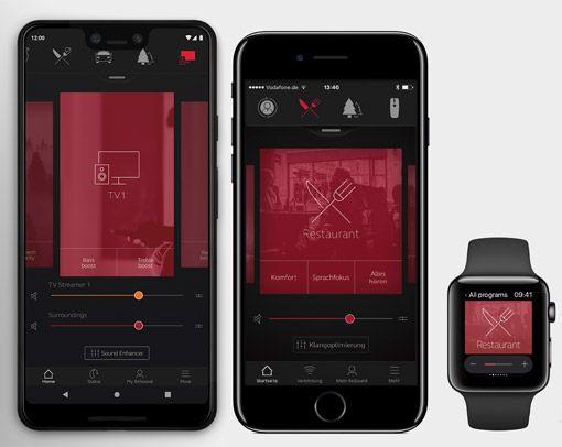 Resound smartphone App