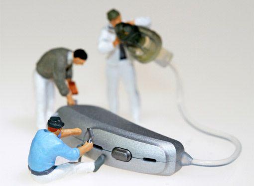 Hörgerät Reparatur